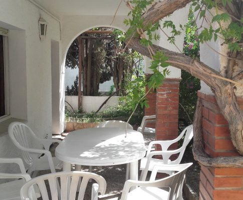 House to rent L'Escala 200 mts from Riells Beach