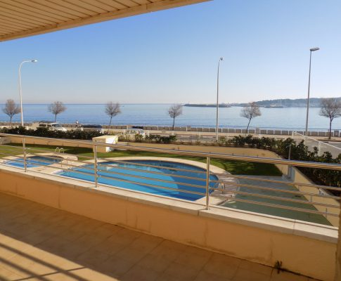 Apartament L'Escala gran terrassa vista mar
