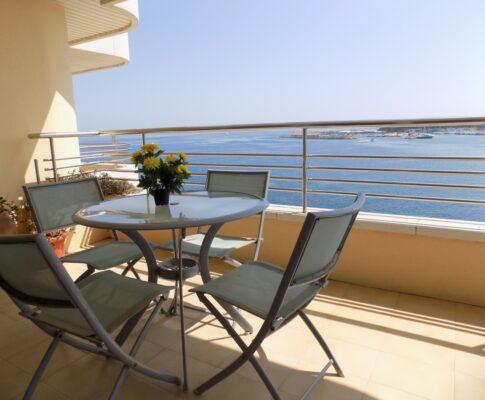 Apartament Phenicia per llogar L'Escala vista mar