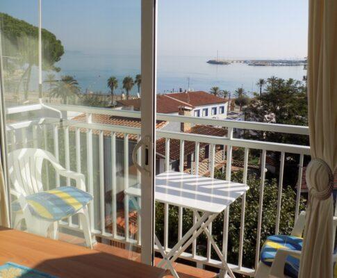 Appartement à louer vue sur plage de Riells