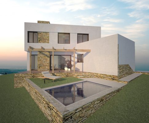 MAGNIFICENT HOUSE NEW CONSTRUCTION WITH PRIVATE SWIMMING POOL